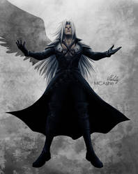 One winged Angel by MCAshe