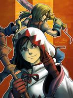 Garnet / Zidane - Final Fantasy IX by MCAshe
