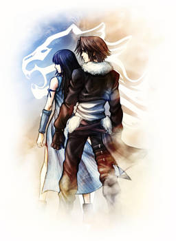 Squall and Rinoa - Griever by MCAshe