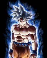 Goku ultra instinct - Selfish doctrine by MCAshe