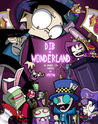 Dib in Wonderland Comic Cover by Spectra22