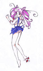 Teenage Chibiusa by Spectra22