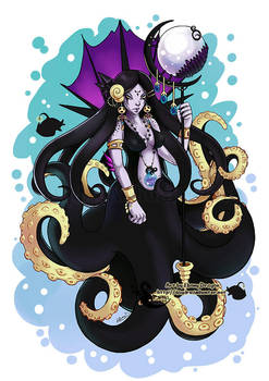 Sea Witch by ebonydragon