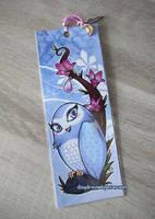 Owl Bookmark by ebonydragon