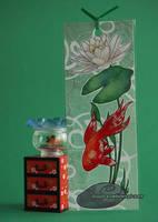 Goldfish Bookmark by ebonydragon