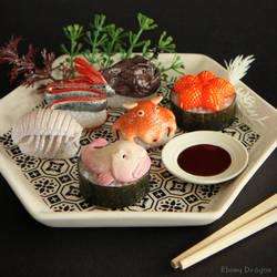 Deep Sea Sushi by ebonydragon