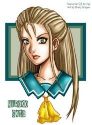 Hiroko by ebonydragon