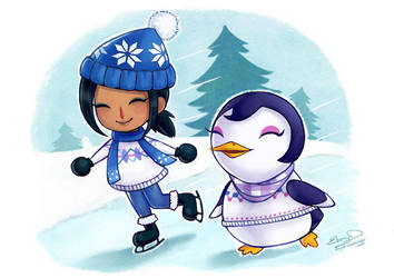 Animal Crossing: Winter Time by ebonydragon
