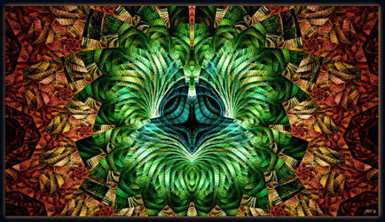 Escher Sketched by PrayingMantis69