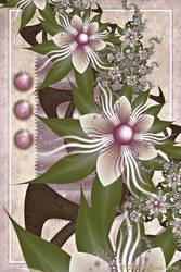 Lilac Anniversary Bouquet by PrayingMantis69