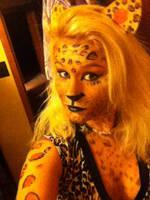 Leopard Print Mask by Cassadia