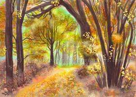 Golden Forest by TokyoMoonlight