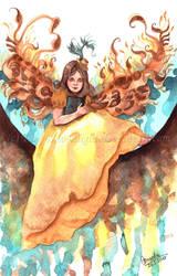 Little Miss Phoenix by TokyoMoonlight