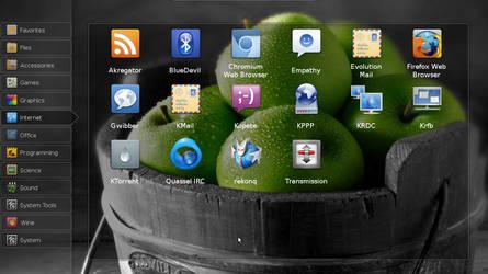 my ubuntu desktop by anggaFSP