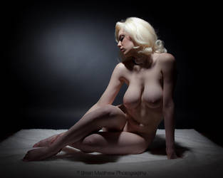 Cherie Artistic Nude Color by BrianMPhotography