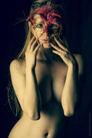 Mask, Implied Nude by BrianMPhotography