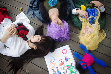 Ib - Ib, Garry, Mary / Cosplay by GGN49