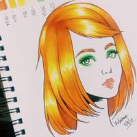 orange by Fokshee