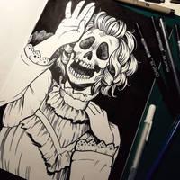ske-lady by Fokshee