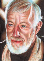 Obi Wan Kenobi by T. Murphy by shelbysnake