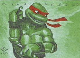 Michelangelo TMNT by shelbysnake
