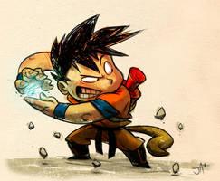 Goku Colors by jesseaclin