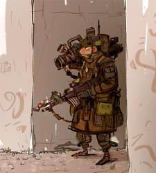 soldier by jesseaclin