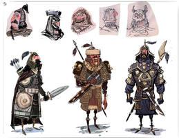 Warrior Designs by jesseaclin