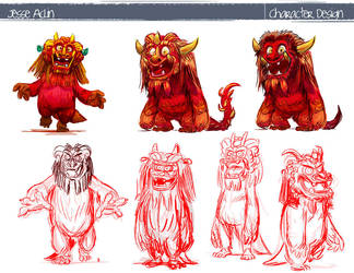 Character Designs by jesseaclin