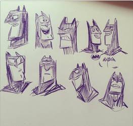 The Bat Man by jesseaclin
