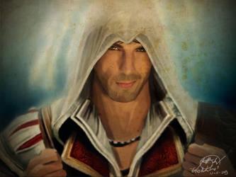Ezio Auditore da Firenze (Assassins's Creed) by IrtyBarber