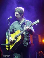 Noel Gallagher in Kansas City 1 by Akkanash