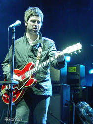 Noel Gallagher in Kansas City 2 by Akkanash