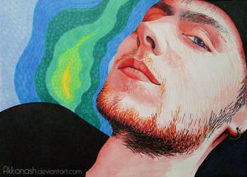 Portrait of Sean by Akkanash