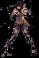 Commission: Demon Hunter by JosjeZ