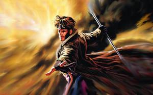 Gambit - Wallpaper by RiaKon