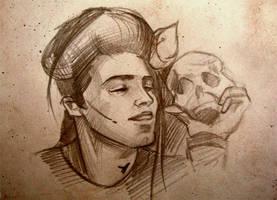 kai sketch by lili-paletskaya