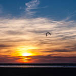 the lone kite by DeborahBeeuwkes