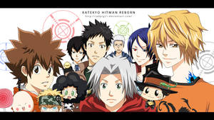 Katekyo Hitman Reborn by RedPig31