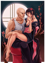 Tekken and Yuriye by rosketch