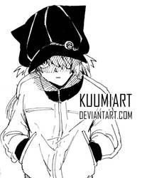 Ink Challenge 07 - Asuka by KuumiArt