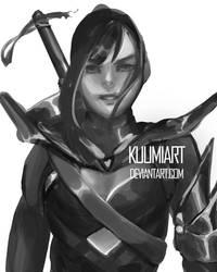 Warrior by KuumiArt