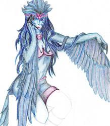 Harpyqueen Serenase by Loktoidi