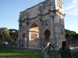 Arch of Constantine by purgatori