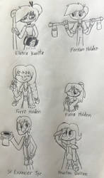 My OCs for Tangled the Series by IvyEspoen98