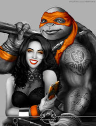 TMNT: Orange by MariaDeniseBrebos