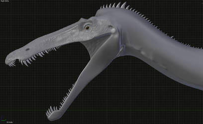 Suchomimus WIP by Sainte-Vincient