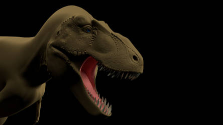 T. rex Hires Test Shot by Sainte-Vincient