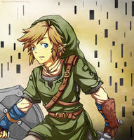 Legend of Zelda: Twilight Princess Link by Angels-Leaf
