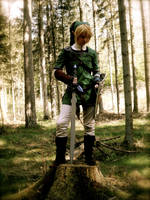Cosplay: Link - The Hero of Time by Angels-Leaf